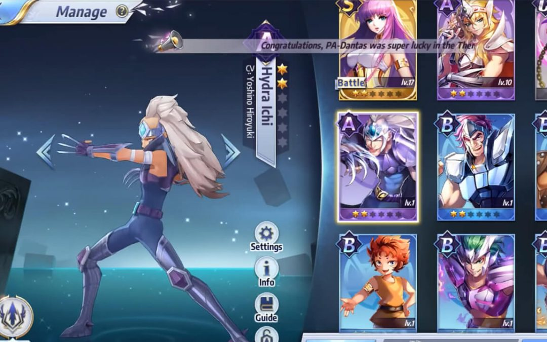 Saint Seiya Awakening: Knights of the Zodiac Review