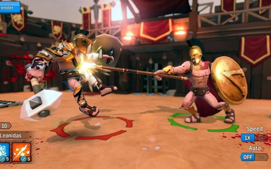 Gladiator Heroes War Review – One of The Best Free Strategy Games