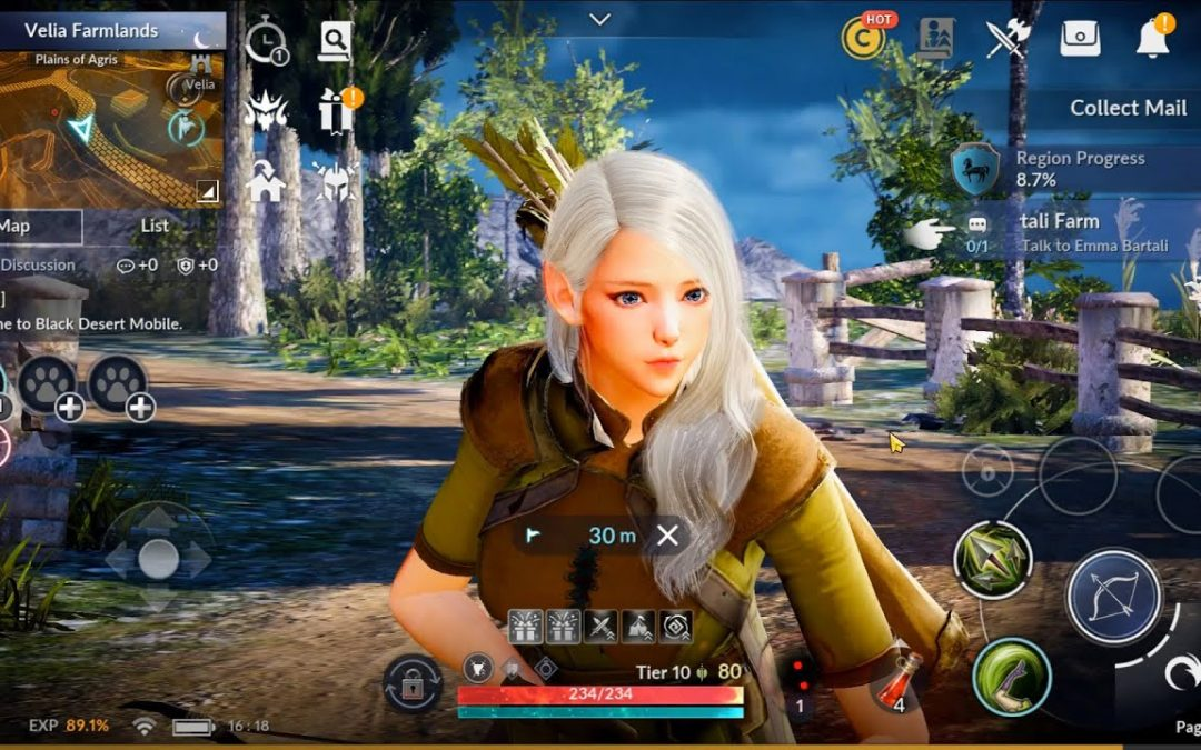 Black Desert Mobile Review – Amazing Fantasy Game for iOS and Android